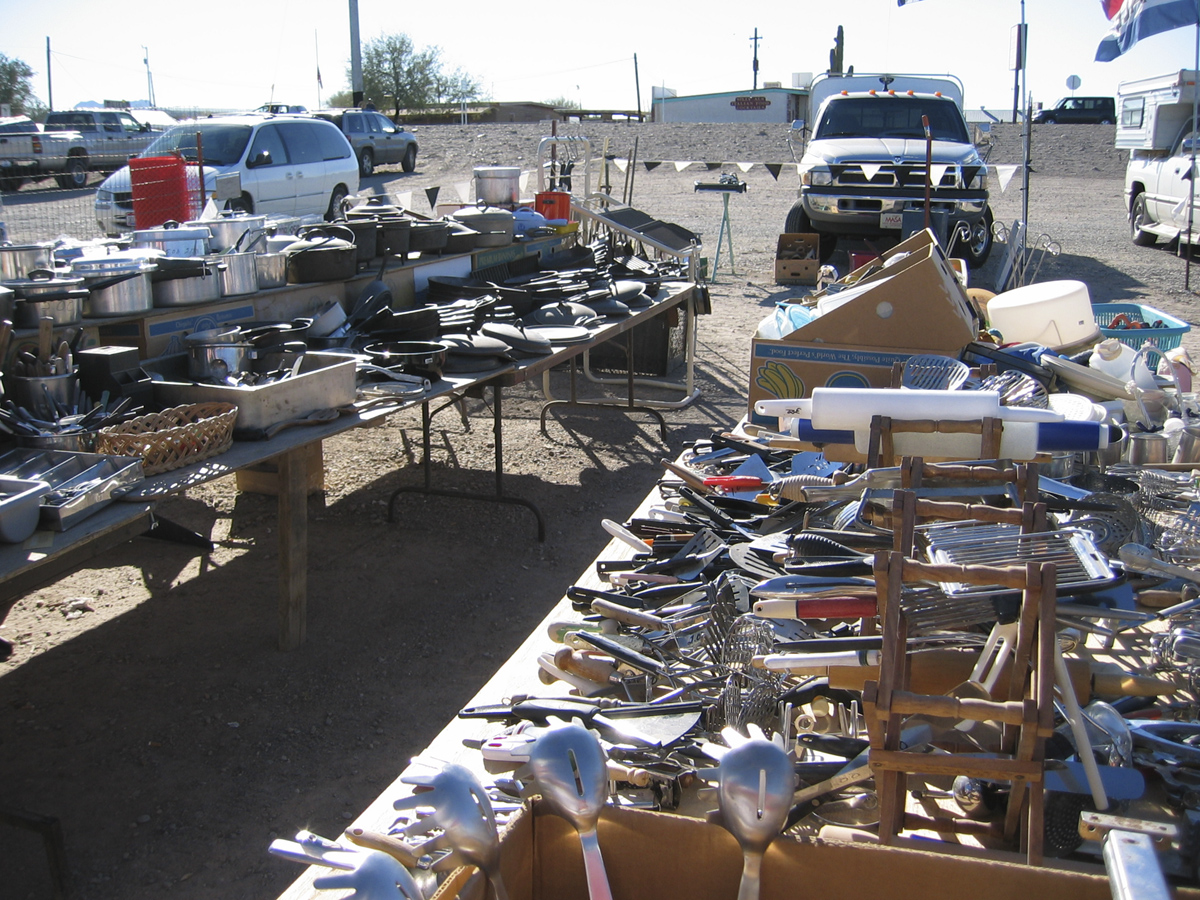 Quartzsite AZ Flea Market
