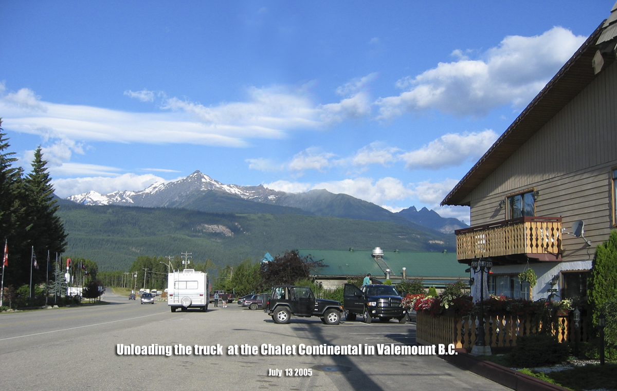 how to get to valemount bc